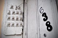 Playin' the Numbers (BKHagar *Kim*) Tags: 6 3 building bells la louisiana neworleans 8 ring nola doorbell doorbells 638 bkhagar