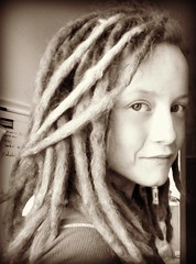 dread love (sublowe) Tags: girl beautiful dreadlocks lady vegan weed photobooth natural mj bored mama medical hydro bead dread farmer marijuana dreads hemp hydroponics dready ganja dreadhead dreadies headwarmer girlwithdreads dreadband