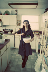 Day Two Hundred Sixty-One (XeniaJoy) Tags: thanksgiving selfportrait cooking kitchen self baking 365 seventies wisk 365days pioneerwomanactions