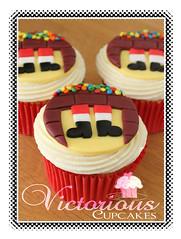 When Santa Got Stuck Up The Chimney Cupcakes (Victorious Cupcakes) Tags: santa christmas chimney fatherchristmas recipes christmascupcakes goodtoknow victoriouscupcakes goodtoknowrecipes