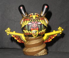 dunny (apocalypse series) Jesse Hernandez 01 (mikaplexus) Tags: street favorite streetart art animal animals jesse toy toys gold artist designer snake awesome apocalypse arts vinyl collection kidrobot wicked collections mayan artists fav collectible limited snakes rare collectibles collecting collector hernandez dunny 2012 arttoy endoftheworld arttoys designertoy toy2r vinyltoy vinyltoys dunnys designervinyl fuckinga ireallylike designervinyltoy jessehernandez apocalypseseries
