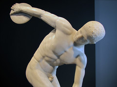 Myron, Discobolus, upper body