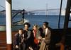 Last San Francisco Ferry Ride 1958. (bcgreeneiv) Tags: sanfrancisco bridge ferry vintage boat baybridge kodachrome