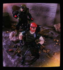 GI Joe ARAH - Outback and Crazylegs [Night Force] (Ed Speir IV) Tags: night vintage real gijoe toy toys force military joe retro american 80s actionfigures hero figure outback crazylegs figures exclusive toysrus gi hasbro tru nightforce 334 realamericanhero arah