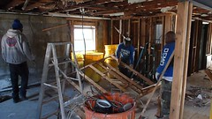 Hurricane Sandy flood damage interior demolition New York (The Trash it Man) Tags: hurricane cleanup howardbeach hurricanecleanup flooddamagecleanup hurricanesandy sandyaftermath