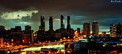 Madrid desde las alturas. (Lara Fuentes) Tags: madrid canon luces noche monumento cielo fotografa panormica