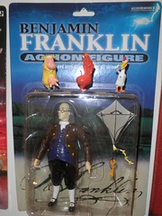 accoutrements (franklin) (mikaplexus) Tags: new favorite chicken toy toys franklin cow ben action misc cartoon mint fave collection wicked collections actionfigures figure devil reality educational 100 benjamin collectible miscellaneous benjaminfranklin figures cartoons mib collectibles nopants cartoonnetwork accoutrements realpeople unopened accoutrement cowchicken ireallylike mintinbox i3toys basedonrealpeople i3accoutrements
