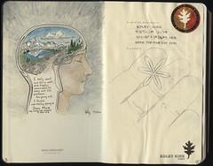 001-002 (The Hike Guy) Tags: moleskine watercolor journal moleskinerie sierranevadamountains notebookism kolbykirk