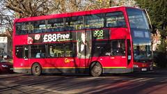 DOE51, Route 213, Sutton Green (Lou Lou Donut) Tags: bus sutton londonbus londontransport optare londongeneral goahead suttongreen route213 suttonbusgarage optareolympus doe51 bus213 lx09ayb
