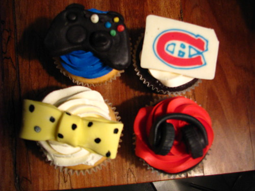 30th birthday special cupcakes