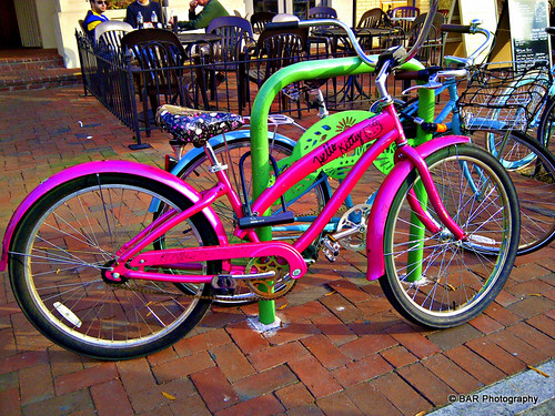 HELLO KITTY bikes!
