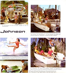 PUB JOHNSON 1961  003 (gueguette80 ... toujours dans le brouillard ... Me) Tags: old boat pub marine ship ships johnson engine bateaux scan bateau bord 1961 outboard ancien hors moteur anciennes touquet advertisings publicites