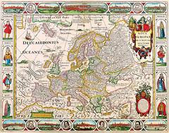 Antique Maps (divinumphoto) Tags: map mapofeurope antiquemapsoftheworld nicolasvisscher c1658