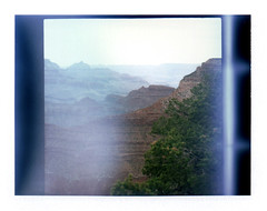 Grand Canyon (chuck johnson) Tags: arizona usa mamiya square polaroid nationalpark unitedstates grandcanyon rb67