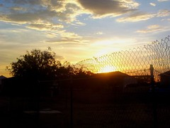 Sunsets And Chainlink