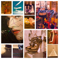 Window Shopping with a Camera (lindyannajones) Tags: sanfrancisco fashion unionsquare storewindows