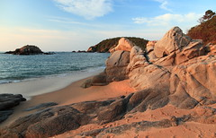 Bahia de Huatulco (kcezary) Tags: ocean travel vacation tourism canon landscape mexico outdoors holidays places paisaje bahia oaxaca polarizer paysage landschaft     canoneflens   hoyacircularpolarizer canonprimelens canon5dmkii