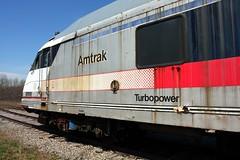 AMTK 2131 on Storage Tracks, Scotia NY (greenthumb_38) Tags: newyork car storage amtrak locomotive passenger scotia combo turboliner jeffreybass amtk2131
