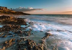 Rocky coast (Daniel Beresford) Tags: ocean blue sunset sea sky seascape beach clouds landscape coast rocks waves australia perth wa westernaustralia canoneos5dmarkii lee09nd lee09gndhard canontse24mmf35lii
