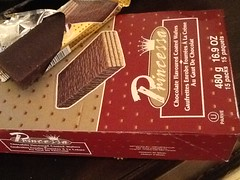 Princessa Chocolate Wafer Bars // From Israel to Fortinos (VeganBananas) Tags: ontario canada cookies vegan box chocolate packaging allergy wafers dairyfree parve accidentallyvegan randomlyvegan uploaded:by=flickrmobile flickriosapp:filter=nofilter