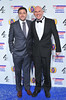 The British Comedy Awards 2012 held at the Fountain Studios - Alex MacQueen (R) and guest