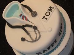 Doctors Birthday cake (Victorious_Sponge) Tags: birthday cake doctors