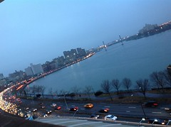 Sunday Evening on the FDR Drive IMG_1934 (smith_cl9) Tags: new york city nyc light cloud motion blur rain river drive traffic side sunday east upper ues esplanade ios fdr ipad lightstream ipadography