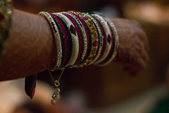 The rows of Circles (ysoseriuos) Tags: wedding bride bokeh bangles weddingpicture indianwedding colorsoflife thegreatindianwedding