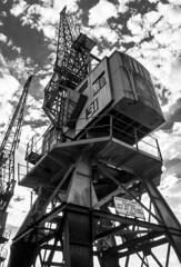 Crane@MShed (Marco Di Ferrante) Tags: mshed bristol uk steel crane street