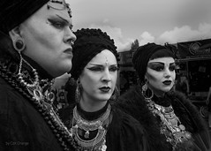 WSWTMABW (Steve.frog) Tags: portraitbw portrait black white schwarz weiss gotic peple cologne kln