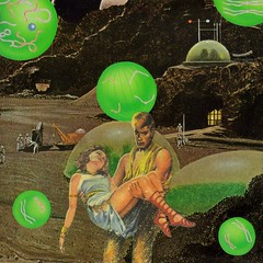 Space Opera (dadadreams (Michelle Lanter)) Tags: collage collageart outerspace spaceage spaceopera retropulp scifiart