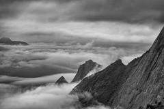 Mount in clouds (Padmanabhan Rangarajan) Tags: munnar