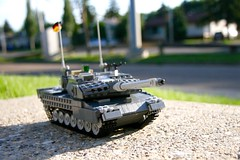 Leopard 2A6 (ABS Defence Systems) Tags: mbt afv deutschland bundeswehr heer lego leopard 2a6 vehicle military tank outdoors vibrant