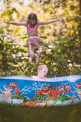 Backyard fun. (Palosaari) Tags: sony takapiha uimassa a900 allas kes koti summer uimaallas uinti finland