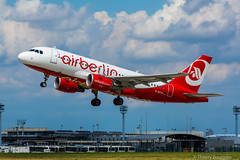 [ORY] AirBerlin Airbus A319-112 _ D-ASTX (thibou1) Tags: thierrybourgain ory lfpo orly spotting aircraft airplane nikon d7100 tamron sigma airberlin airbus airbusa319 a319 a319112 dastx dcollage takeoff