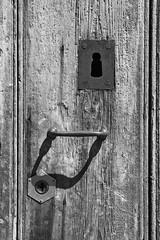 old_&_new (bobol68) Tags: serratura vecchio nuovo lock old new bianco nero black white