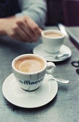 coffee time (Sandro Reinhard) Tags: analog film 135 kleinbild adox nikon fe kaffee