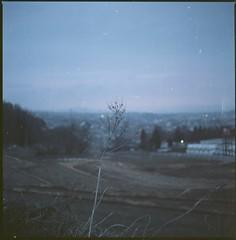(bensn) Tags: hasselblad 500cm carl zeiss 80mm f28 film kodak ektar 100 japan nagano evening landscape grass