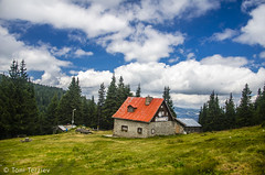 """Nestled in the heart the Rhodopes """"Perelik Huts"""" (Toni Terziev) Tags: 500px hut huts rhodope mountains mountain landscape landscapes home outdoor bulgaria beautiful"""