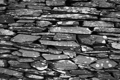Dry Stone Wall 4/5 (rees_wj) Tags: blackandwhite texture architecture sony a6000 tamron bnw pattern monochrome stonework rock rocks abstract ireland 2870mm