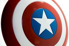 Star Shield (Skyline:)) Tags: stars macromondays red white blue captainamerica