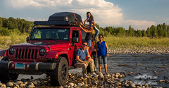 Road tripp'n (vahidss9) Tags: roadtrip wyoming grandteton yellowstone nationalpark vssphoto jeep water offroading familytrip