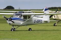 G-ARFO - 1961 build Cessna 150A, visiting Sywell during Aero Expo 2016 (egcc) Tags: 15059174 150a aeroexpo aeroexpo2016 ce150 cessna cessna150 egbk fawley garfo lightroom northampton orm sywell