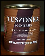 Tuszonka  , Zeiss Tessar 50mm f/2.8 M42 (Ebanator) Tags:  tuszonka cannedmeat luncheonmeat pork spam zeisstessar5028 tessar tessar50mmf28 sonya850 czj m42
