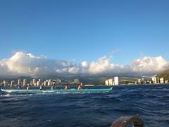 IMG_6837 (nautical2k) Tags: waikikibeachboys paddling outrigger canoe diamondhead honolulu oahu
