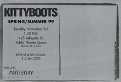 Kitty Boots (Mary Hawkins) Tags: flyer clubkid 1999