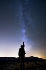 La Tte dans les Etoiles (fredMin) Tags: sky stars astrophotography fuji fujifilm xt1 samyang 12mm long exposure voie lacte milky way