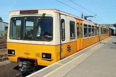 Tyne & Wear Metro: 4001 Pelaw (emdjt42) Tags: tynewearmetro 4001 pelaw