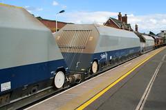 320050 Kettering 020716 (Dan86401) Tags: 320050 320 hoa bogie aggregate hopper wagon freight db dbcargo dbcargoconstruction kettering mml 6v68