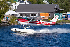 Fletcher Mountain Aviation Cessna 182P N4667K (jbp274) Tags: 52b greenville greenvilleseaplaneflyin airplanes seaplane flyin mooseheadlake lake water cessna c182 skylane
